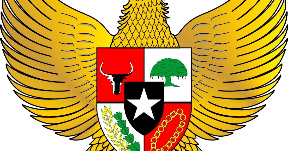 Garuda Pancasila Lambang Indonesia Munawi Inside Gambartop Com