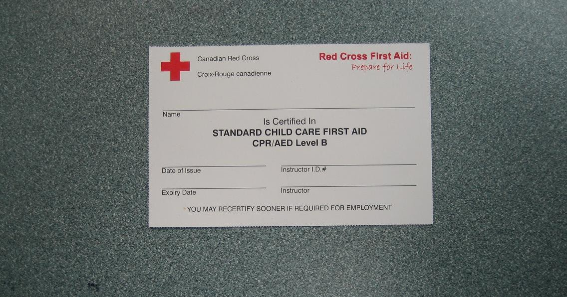 1st Aid And Cpr Courses Red Cross 1st Aid And Cpr Training