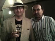 Con Luis Antonio de Villena