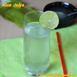cocktail wisk aloe
