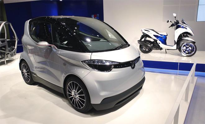 Yamaha Motiv-e at the Tokyo show