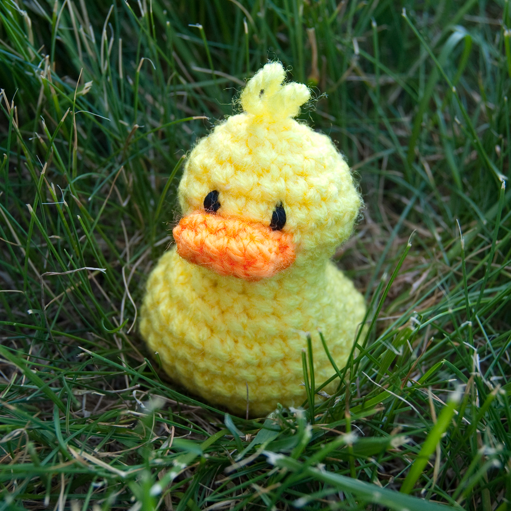 Free Pattern Crochet Duck : The Itsy Bitsy Spider Crochet: Lil Duckie Free Pattern