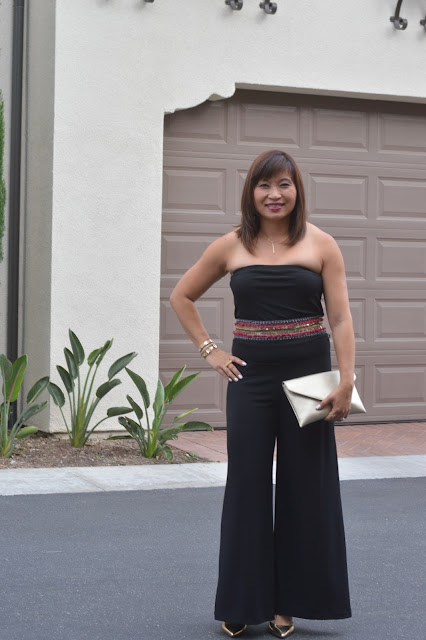 jumpsuit, date night, Over 40 Fashion Blogger, OC blogger