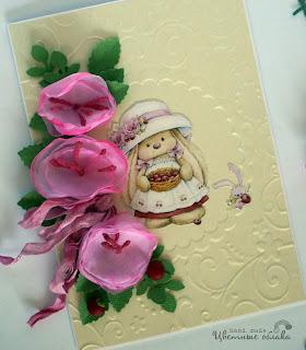 самодельные цветы для открыток