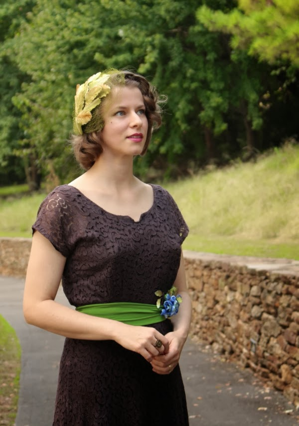 Vintage for a Woodland Walk #vintage #fashion #1940s #style #woodland