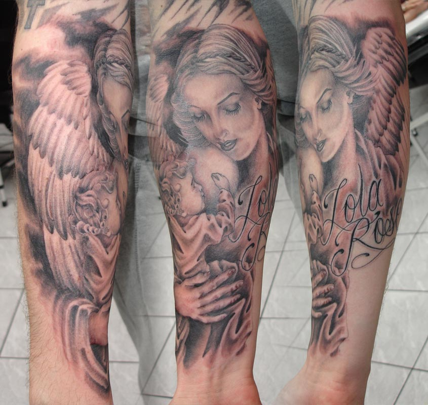 ranges tattoo: Angel Tattoos, Designs