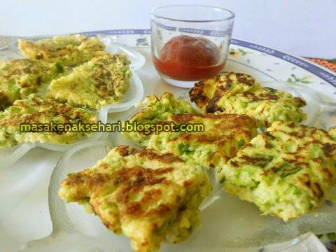 Resep Cara Membuat Omelet Telur Sayur Waluh Sederhana