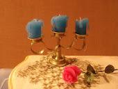 Свечи из пластики