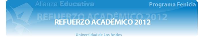 Refuerzo Académico 2012