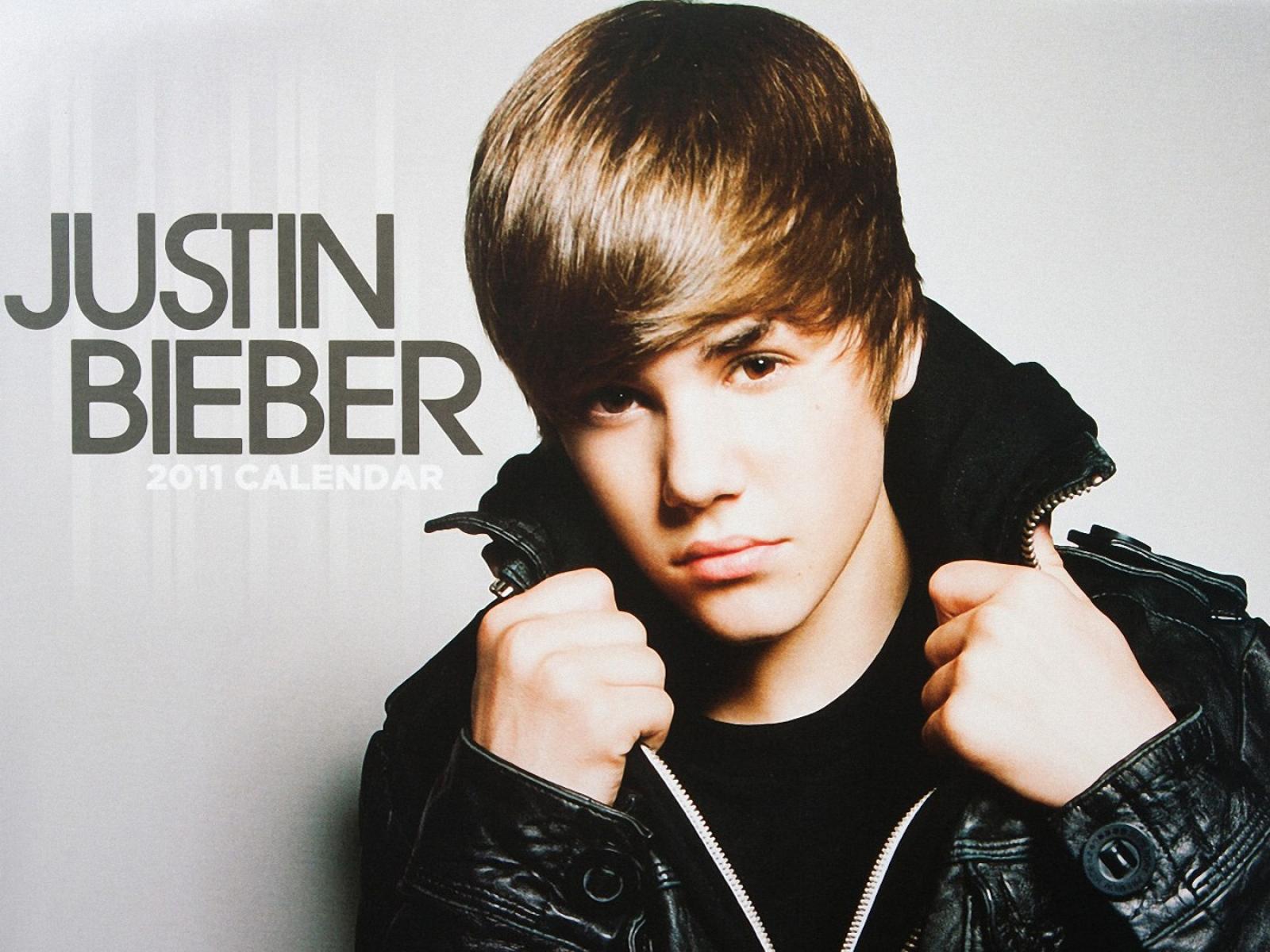 Justin Bieber During Photoshoot
