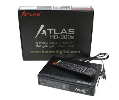 Atualizacao do receptor Cristor Atlas s200