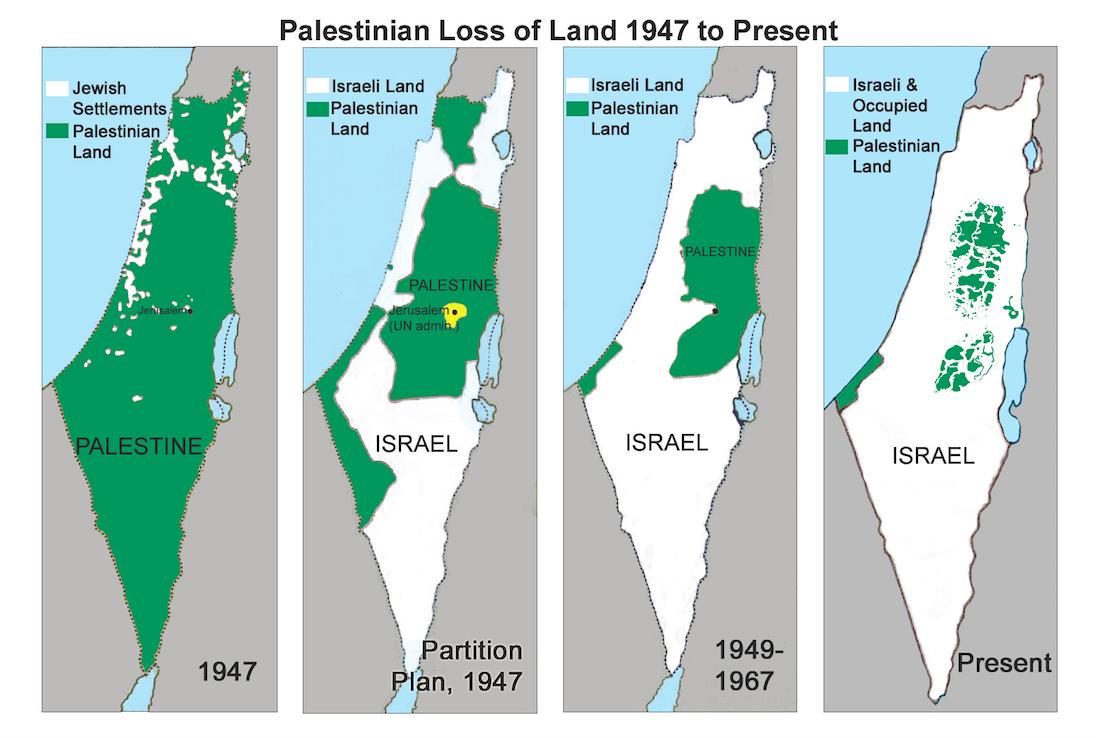 Israel-Palestine Timeline