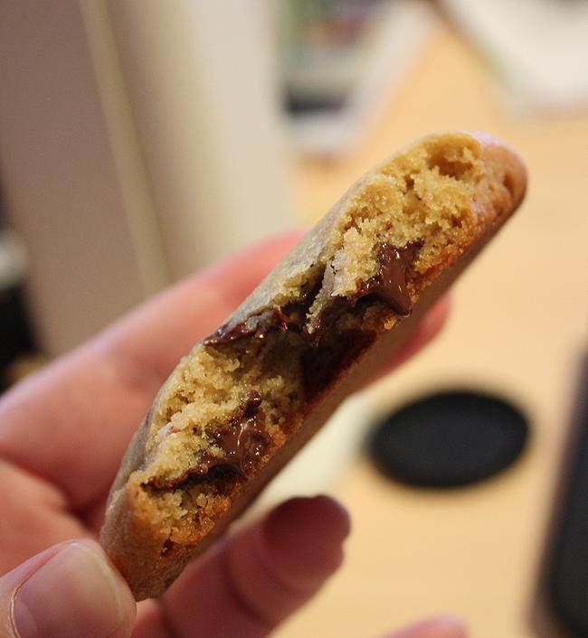 On a paper cloud: ~chocolate chip cookies/cinnamon sugar ...