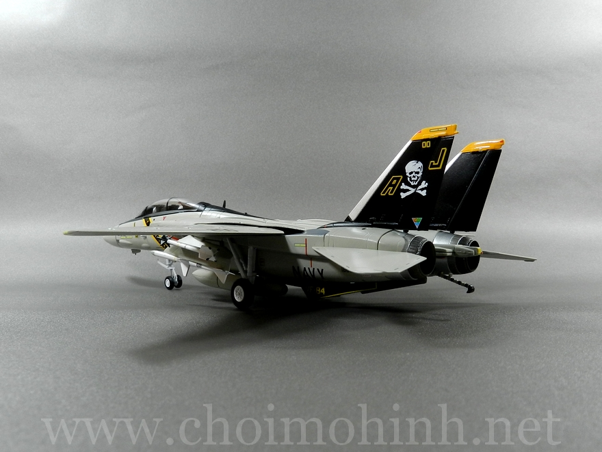 F-14A Tomcat US Navy Jolly Rogers 1:72 Witty Wings back