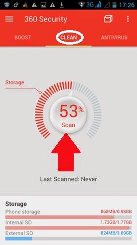Hướng dẫn 360 Security, phần mềm dọn rác số 1