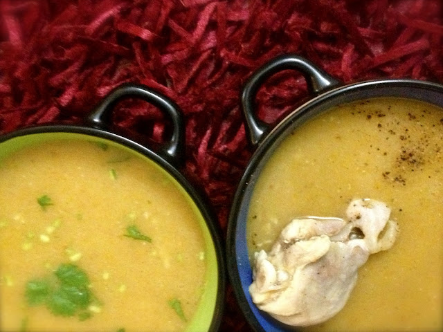Dal Shorba : Veg and Chicken