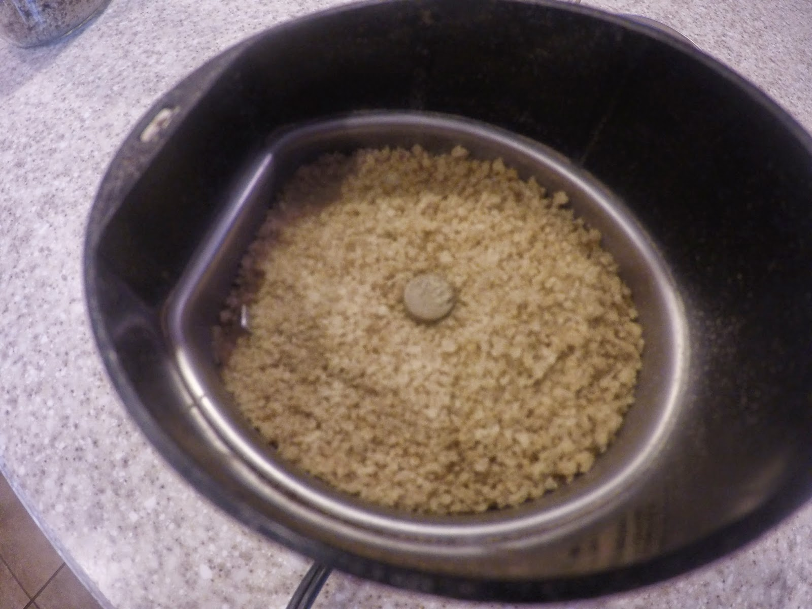 The Quinoa Should be Ground Slightly, Not Powdered