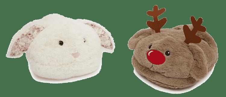Cojines para los pies de la colección para Navidades