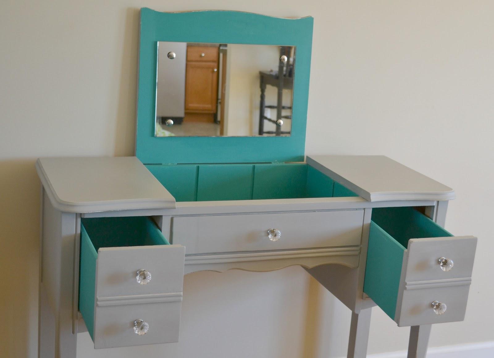 Funky junk vanitydesk set with a pop vanitydesk set with a pop geotapseo Images