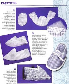 Zapatos para Bebes, Moldes Faciles de Hacer, Ideas de Costura
