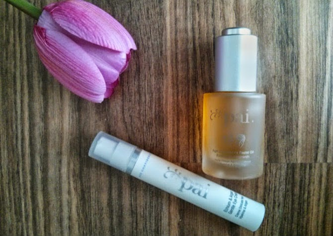 pai facial oil eye cream lavender sleep mask