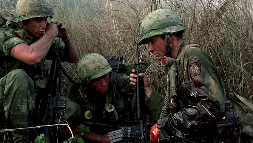 hamburger hill shows the reasons against the Hamburger hill because it was released less than a year after oliver stone's platoon and within months of stanley kubrick's full metal jacket, this exceptionally well-made film about one of the bloodiest battles of the vietnam war was largely overshadowed and overlooked.