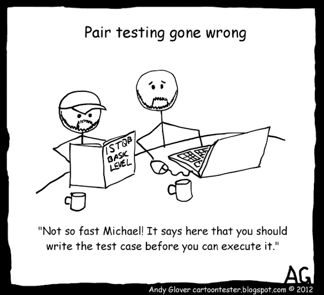 Pair Testing Gone Wrong