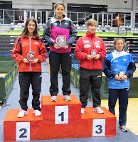 Podio absoluto femenino torneo zonal 2012