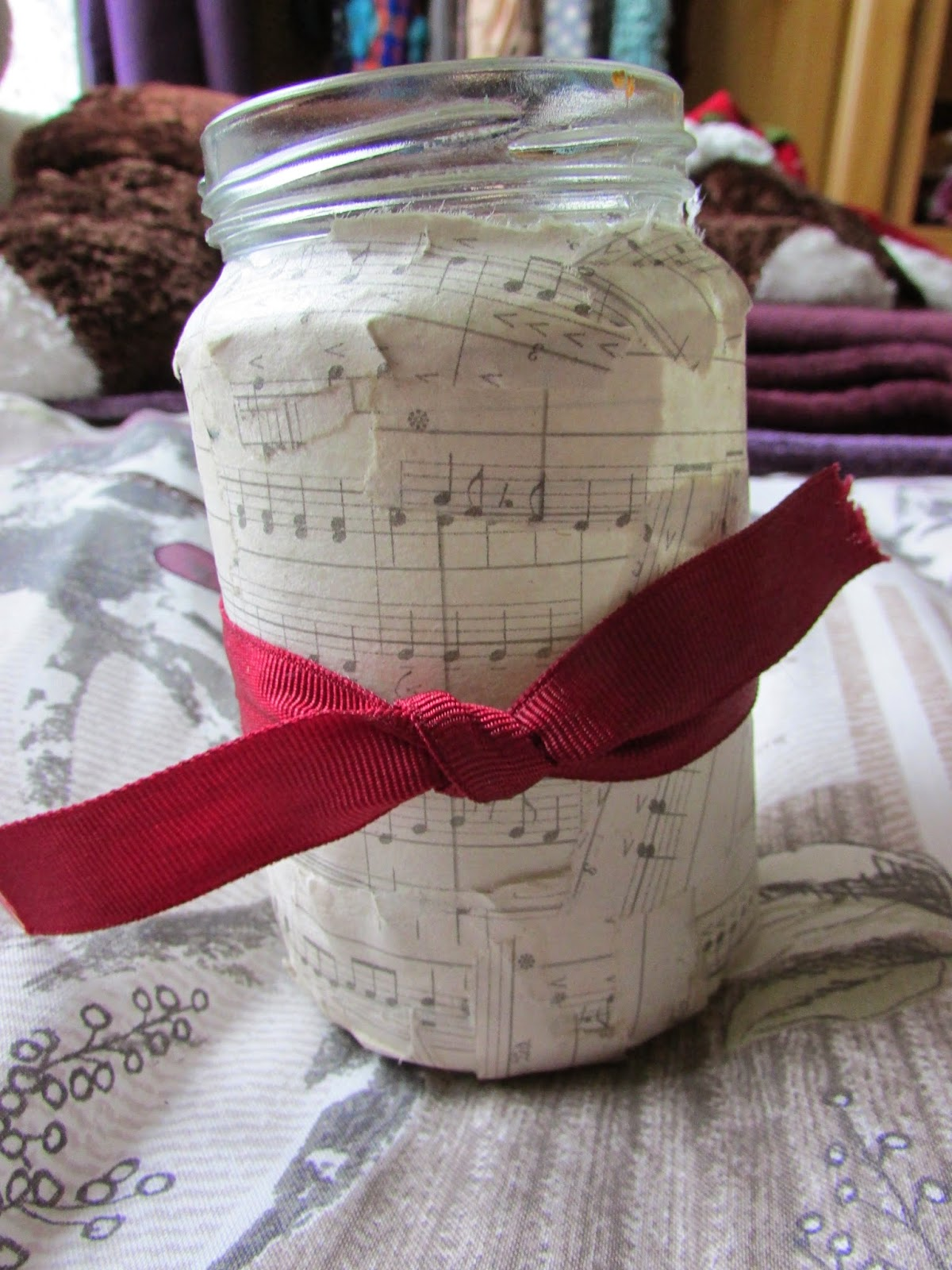 craft idea to make a savings jar