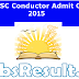UPSSSC Bus Conductor Admit Card 2015 Download Now
