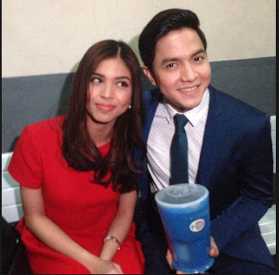 Maine Mendoza wrapped her Christmas gift for Alden in a pitcher