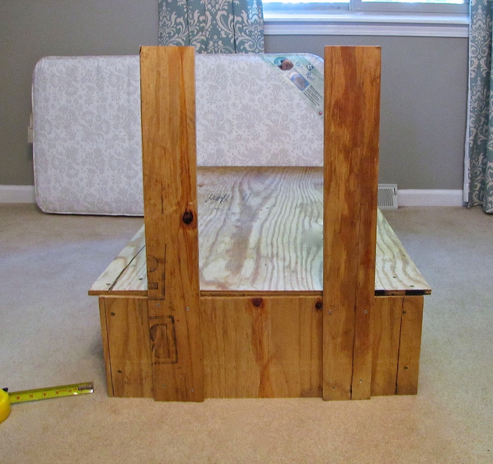 The Modest Homestead Tufted Toddler Bed tutorial