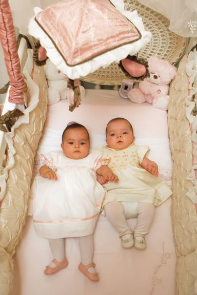 Quarto de gêmeas - Filhas cantor Luciano Camargo