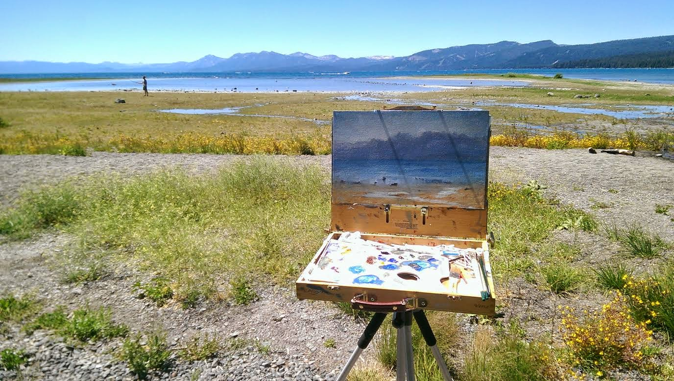 Open Plein Air Events, Paint Outs, Shows & Competitions - Magazine cover