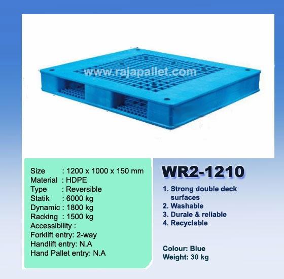 Pallet Plastik wr2-1210