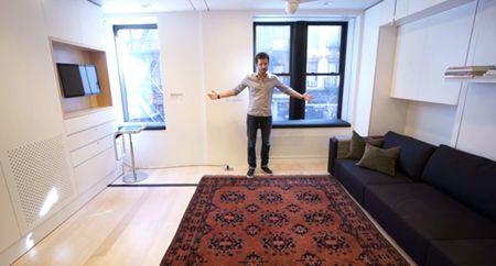 Video Keren: Apartemen Kecil dengan 8 Ruangan