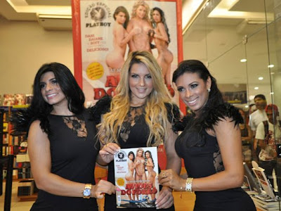 Playboy de Agosto 2011 - Dançarinas do Aviões do Forró