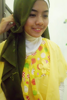 Fashion Baju Muslim Modern: Tutorial Hijab ala Fatin