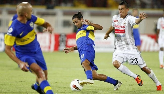 Boca vs Zamora en vivo
