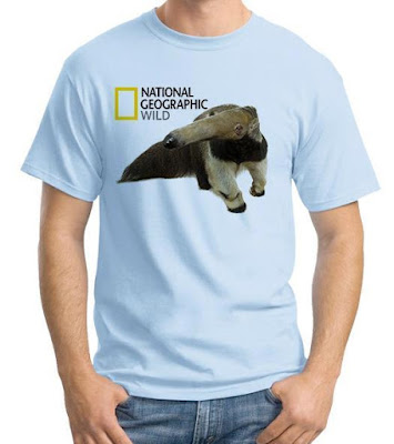 Model Baju Kaos National Geographic Wild Warna Biru