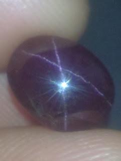 natural star garnet