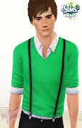 Facial Sliders on Caliena's Sims3 Blog · Bushy eyebrowns by Flinn