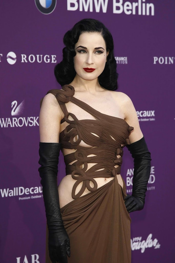 Dita Von Teese at Duftstars Awards 2012