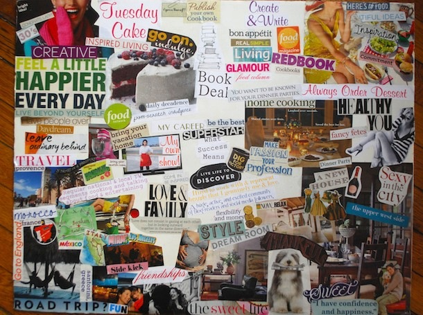 Inspired Living How To Create A Vision Board That Works