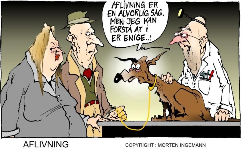 Morten Ingemann stribe: Aflivning er en alvorlig sag, men jeg kan forstå at I er enige..!