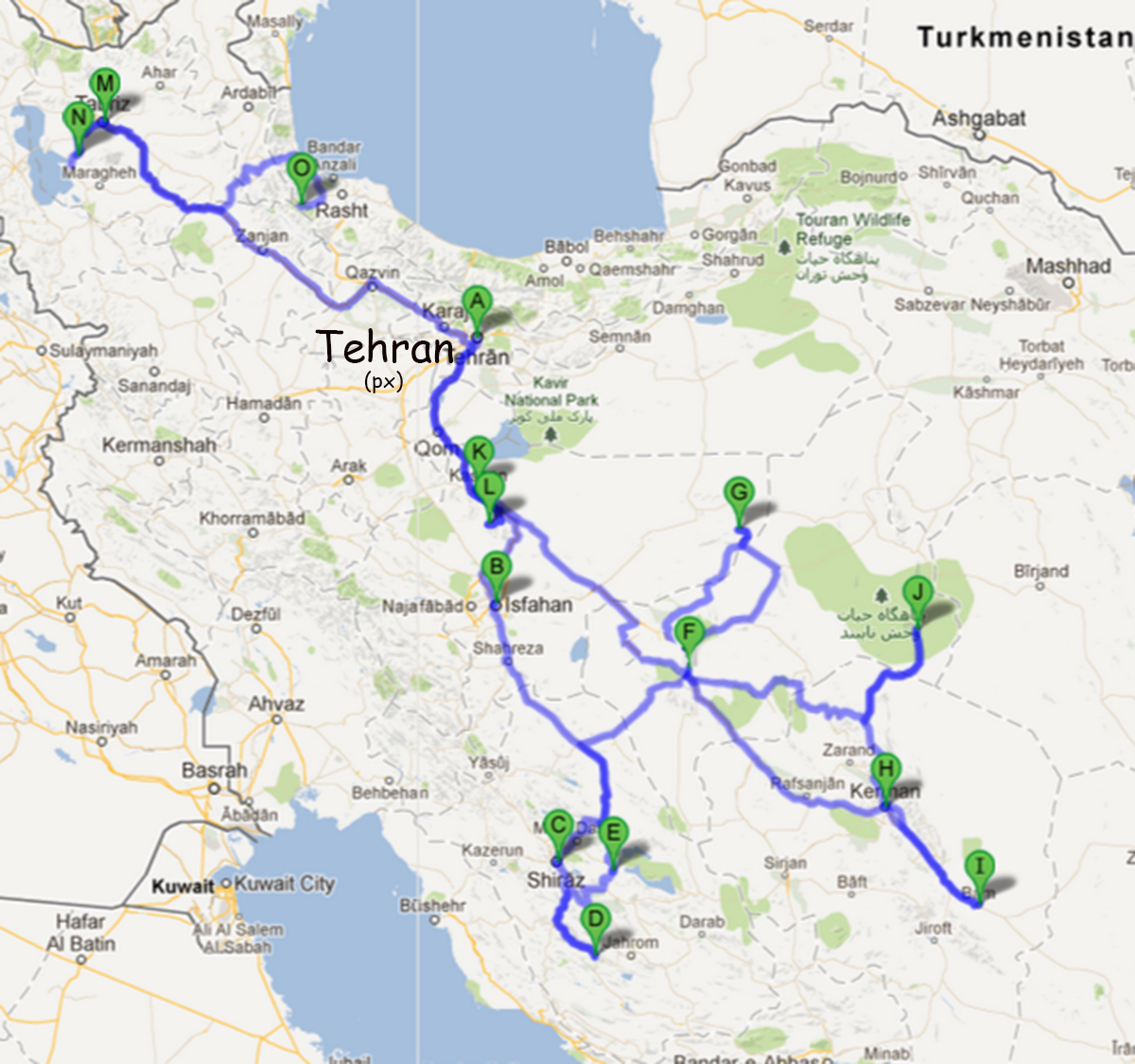 Globerovers Travel Photography Iran From southeast to northwest
