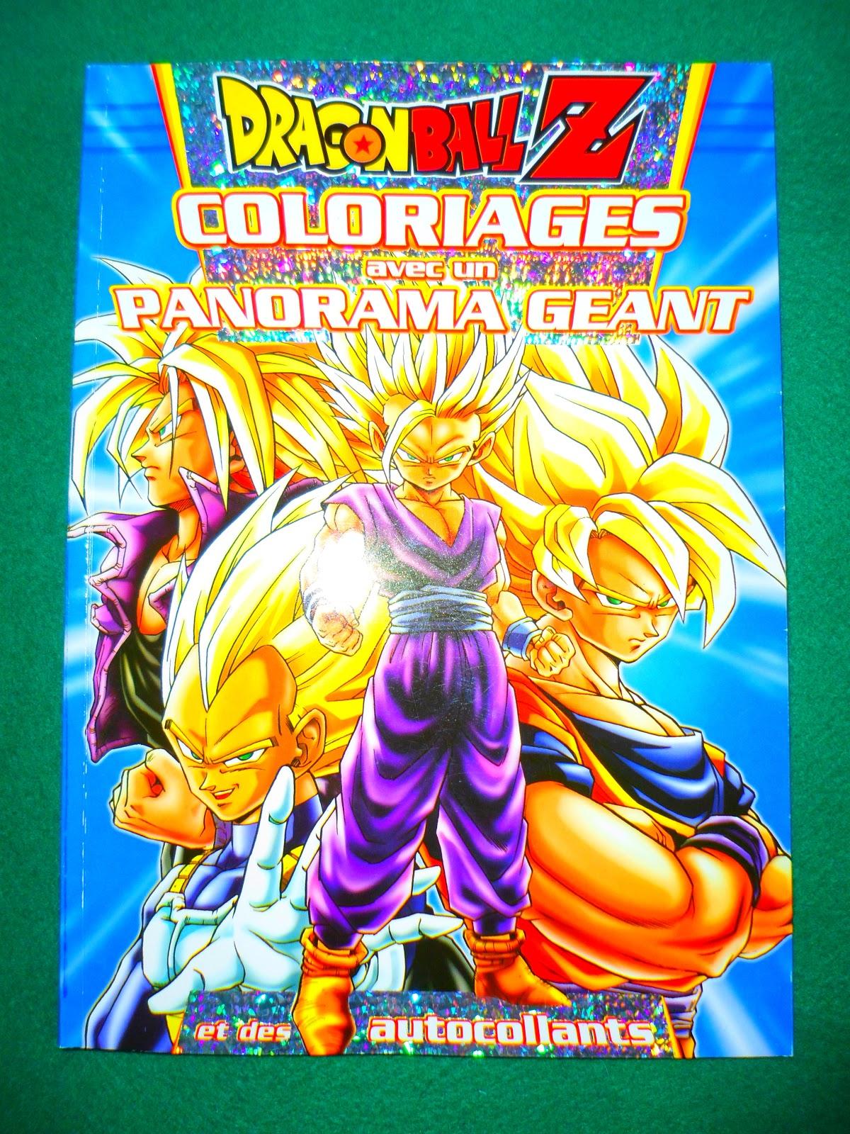 Dragon Ball Z Coloriages avec Panorama Géant