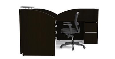 Verde Modern Reception Desk VL-644R by Cherryman