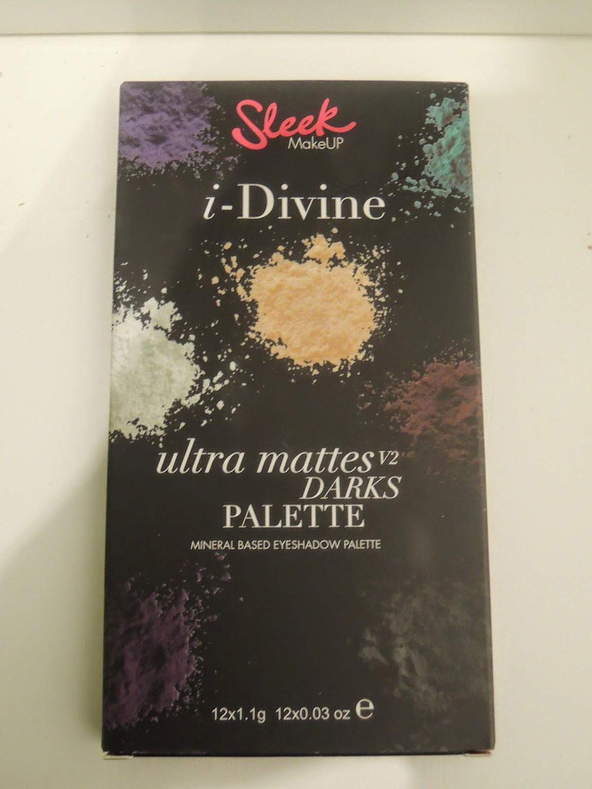 Czy Sleek ma dobre matowe cienie? Ultra Mattes V2 Darks