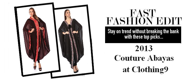 Couture abaya 2013 embroidered abaya top picks for What does couture mean in french
